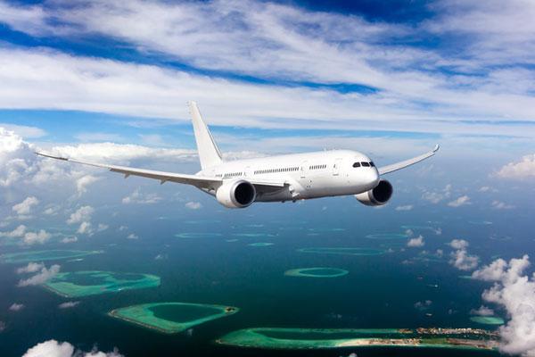 Domestic flight transfers in the Maldives