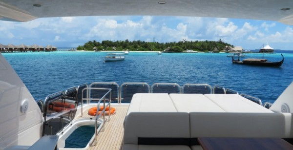 Yachting in the Maldives